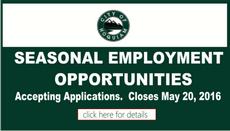 Seasonal Employment Opportunities