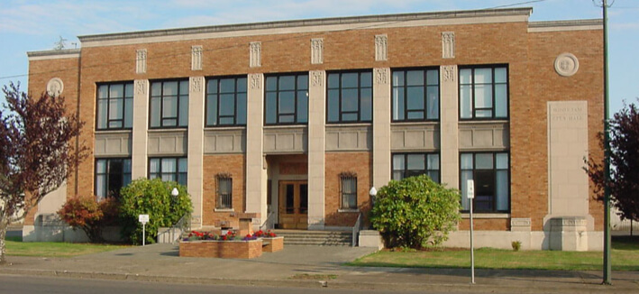 picture of hoquiam city hall