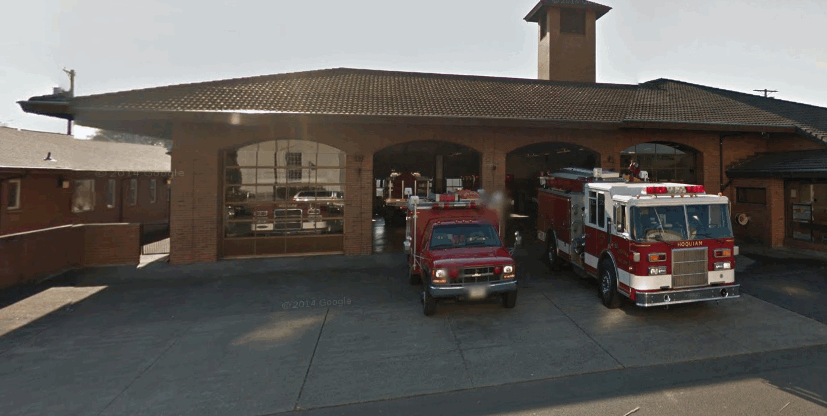 pictrre of hoquiam fire department main station