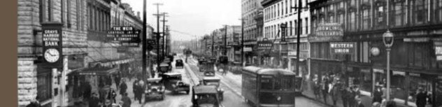 Historic Photo of Downtown Hoquiam